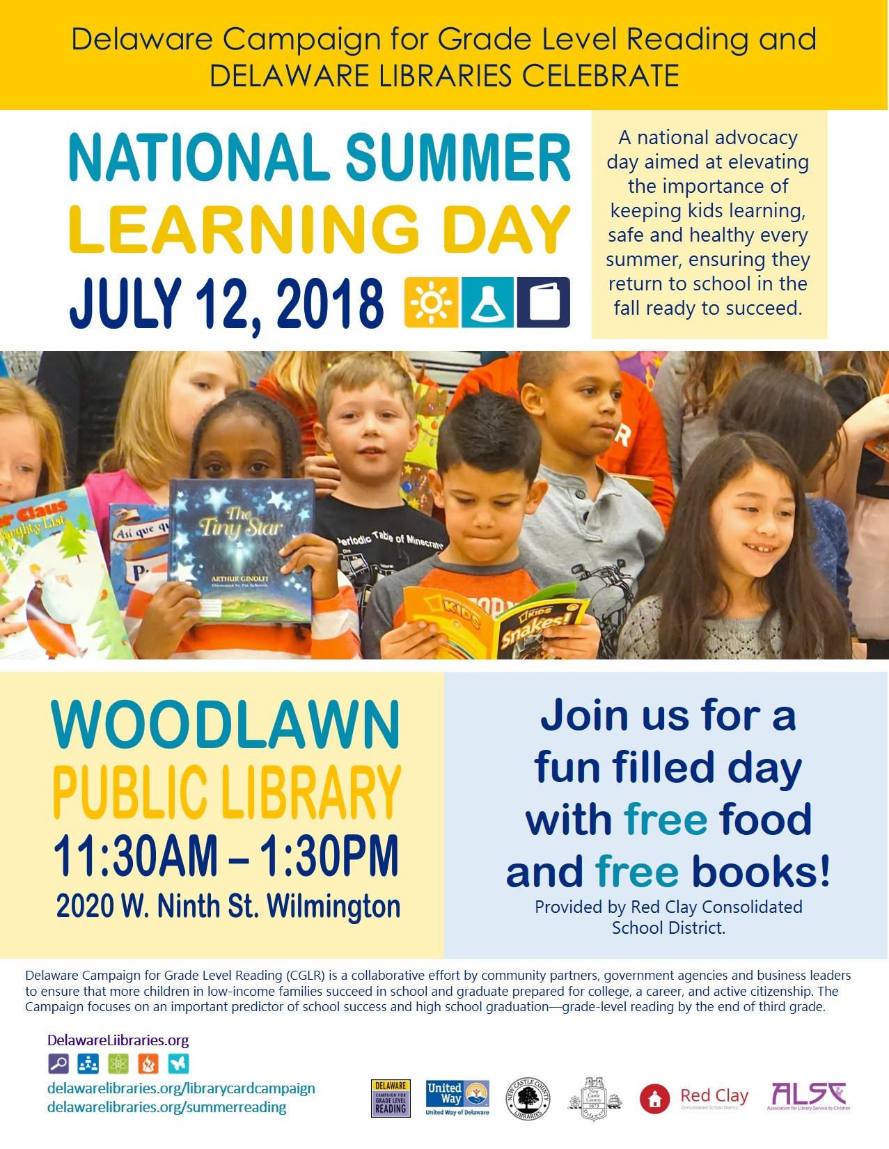 Campaign For Grade Level Reading, Summer Learning Day