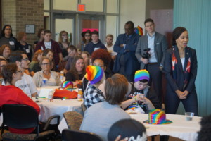 Lisa Blunt - Rochester at UWDE PRIDE Council Event