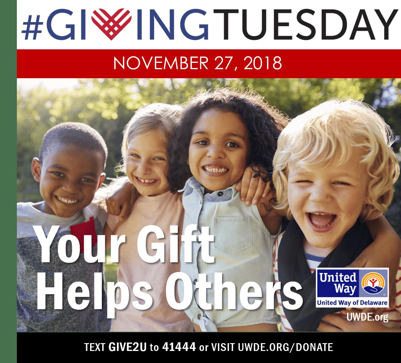 UWDE Giving Tuesday