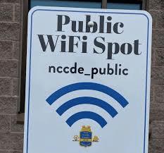 NCC Free Wifi Photo
